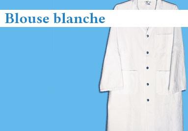 Acheter blouse blanche de chimie