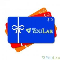 Carte cadeau YouLab